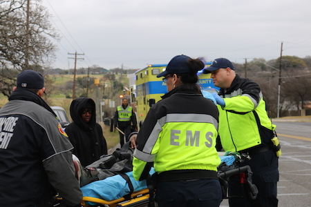 image of an emergency medical response team