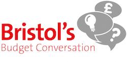 Bristol budget conversation logo